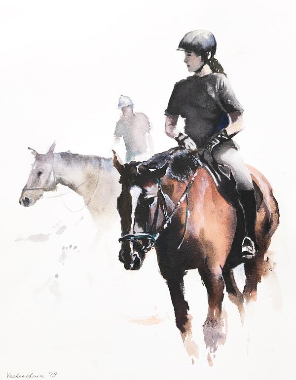 Wafer fioc nourriture idéale pour chevaux de sport équitation course sauts d'obstacles