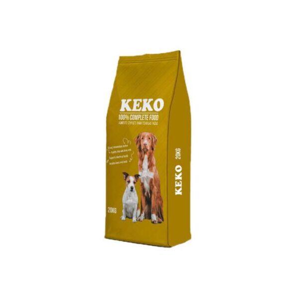 KEKO croquette chien sac 20 Kg alimentation complète
